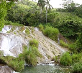 El Nicho Waterfalls in Cienfuegos